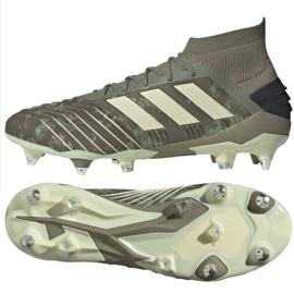 Fotbalová obuv Adidas Predator 19,1 Sg M EF8206 šedá šedá / stříbrná