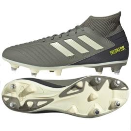 Fotbalová obuv Adidas Predator 19,3 Sg M EG2830 šedá / stříbrná šedá