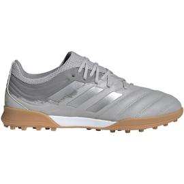 Fotbalová obuv Adidas Copa 20.3 Tf M EF8340 šedá šedá / stříbrná