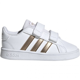 Obuv Adidas Grand Court I Jr EF0116 bílá