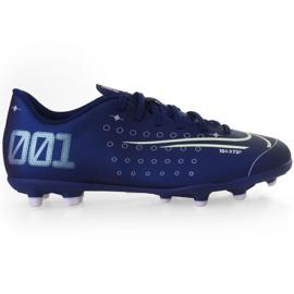 Fotbalová obuv Nike Mercurial Vapor 13 Club Mds FG / MG Jr CJ1148 401 námořnická modř válečné loďstvo