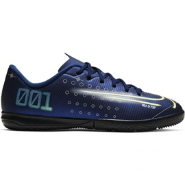 Fotbalová obuv Nike Mercurial Vapor 13 Academy Mds Ic Jr CJ1175 401 válečné loďstvo námořnická modř