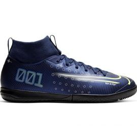 Fotbalová obuv Nike Mercurial Superfly 7 Academy Mds Ic Jr BQ5529 401 válečné loďstvo námořnická modř