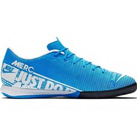 Fotbalová obuv Nike Mercurial Vapor 13 Academy M Ic AT7993 414 modrý modrý