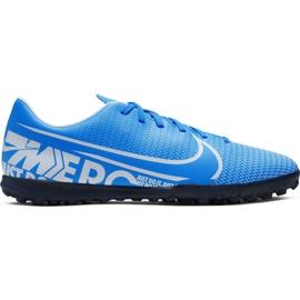 Fotbalová obuv Nike Mercurial Vapor 13 Club M Tf AT7999 414 modrý modrý