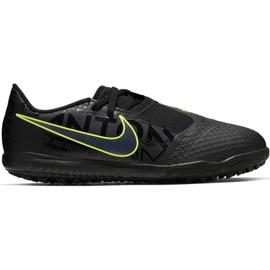 Fotbalová obuv Nike Phantom Venom Tf Jr AO0377 007 černá, zelená černá