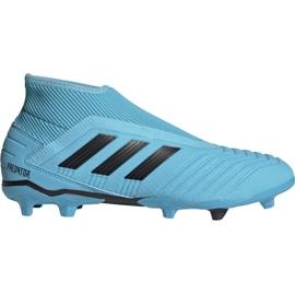 Fotbalová obuv Adidas Predator 19,3 Ll Fg M G27923 černá, modrá modrý