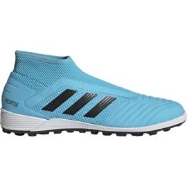 Fotbalová obuv Adidas Predator 19,3 Ll Tf M EF0389 modrý černá, modrá