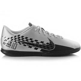 Fotbalová obuv Nike Mercurial Vapor 13 Neymar M Ic AT7998 006 šedá černá, šedá / stříbrná