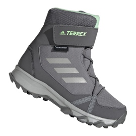 Sálová obuv Adidas Terrex Cf Cp Cw Jr G26580 šedá
