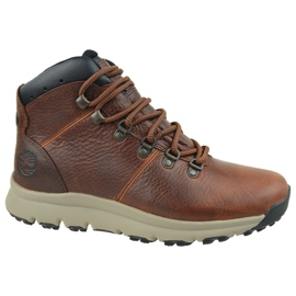 Obuv Timberland World Hiker Mid M A213Q hnědý