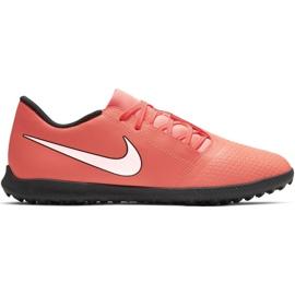 Fotbalová obuv Nike Phantom Venom Tf M AO0579 810 bílá, oranžová oranžový
