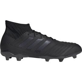 Fotbalová obuv Adidas Predator 19,2 Fg M F35603 černá černá