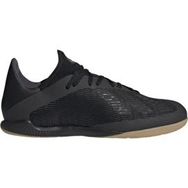 Fotbalová obuv Adidas X 19.3 In M F35369 černá černá
