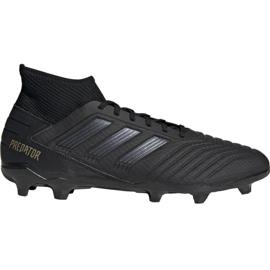 Fotbalová obuv Adidas Predator 19.3 Fg M F35594 černá černá