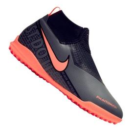 Fotbalová obuv Nike Phantom Vsn Academy Df Tf Jr AO3292-080 černá