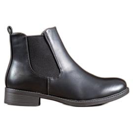 SHELOVET Klasické boty na zip černá