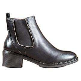 Small Swan Černé boty černá