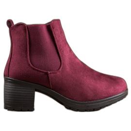 CABIN Klasické boty červená