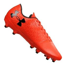 Under Armour Pod Armor Magnetico Select Fg M 3000115-600 fotbalové boty červená