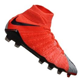 Fotbalová obuv Nike Wmns Hypervenom Phantom 3 Df Fg M 881545-058 červená