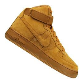 Obuv Nike Jr Air Force 1 High Lv 8 Gs Jr 807617-701 žlutý