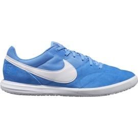 Fotbalová obuv Nike Premier Ii Sala Ic M AV3153 414 bílá, modrá modrý