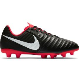 Fotbalová obuv Nike Tiempo Legend 7 Club Mg Jr AO2300 006 černá