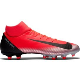 Fotbalová obuv Nike Mercurial Superfly 6 Academy CR7 Mg M AJ3541 červená