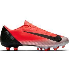 Fotbalová obuv Nike Mercurial Vapor 12 Academy CR7 Mg M AJ3721 600 červená