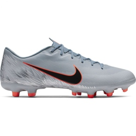 Fotbalová obuv Nike Mercurial Vapor 12 Academy Mg M AH7375 408 šedá