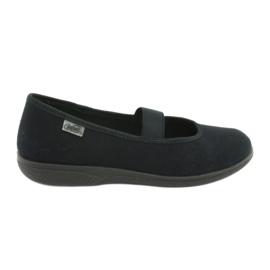 Befado obuv pro mládež pvc 412Q002 černá