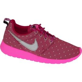 Obuv Nike Rosherun Print Gs W 677784-606 růžový