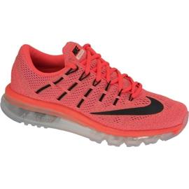 Nike Air Max 2016 boty v 806772-800 červená