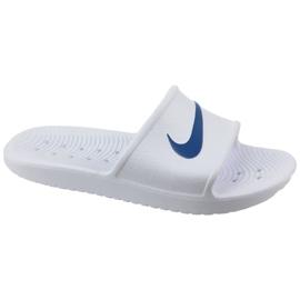 Pantofle Nike Kawa Shower 832655-100 bílá