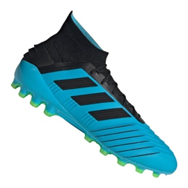 Fotbalová obuv Adidas Predator 19.1 Ag M F99970 modrý modrý