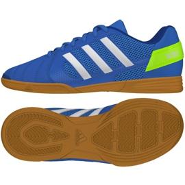 Sálová obuv Adidas Top Sala Jr FV2632 modrý modrý
