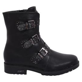Vojenské černé izolované boty 1952-30 černé černá