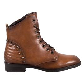 Elegantní boty VINCEZA hnědý