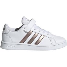 Obuv Adidas Grand Court C Jr EF0107 bílá