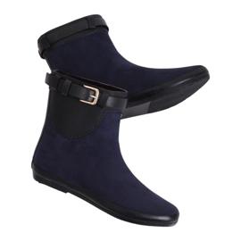 Dámské boty Wellingtons navy blue K1890101 Marino válečné loďstvo