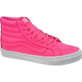 Vans Sk8-Hi Slim W VA32R2MW4 boty růžový