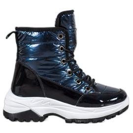 SHELOVET Sportovní lyžařské boty modrý