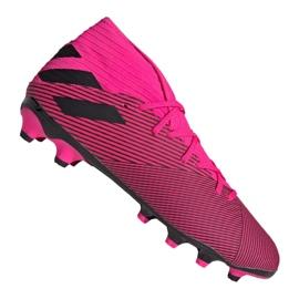 Obuv Adidas Nemeziz 19,3 Mg M 024 EF8024 růžový nachový