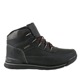Černé izolované zimní boty MXC-7589 černá