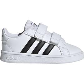 Obuv Adidas Grand Court I Jr EF0118 bílá