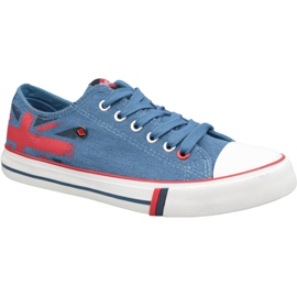 Lee Cooper Low Cut 1 W LCWL-19-530-032 boty modrý