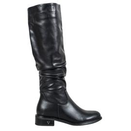Klasické boty značky VINCEZA černá