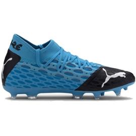Fotbalová obuv Puma Future 5.2 Netfit Fg Evo M 105984 01 modrý modrý