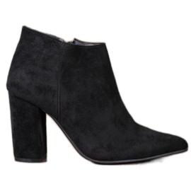 Marquiz Sexy zipové boty černá